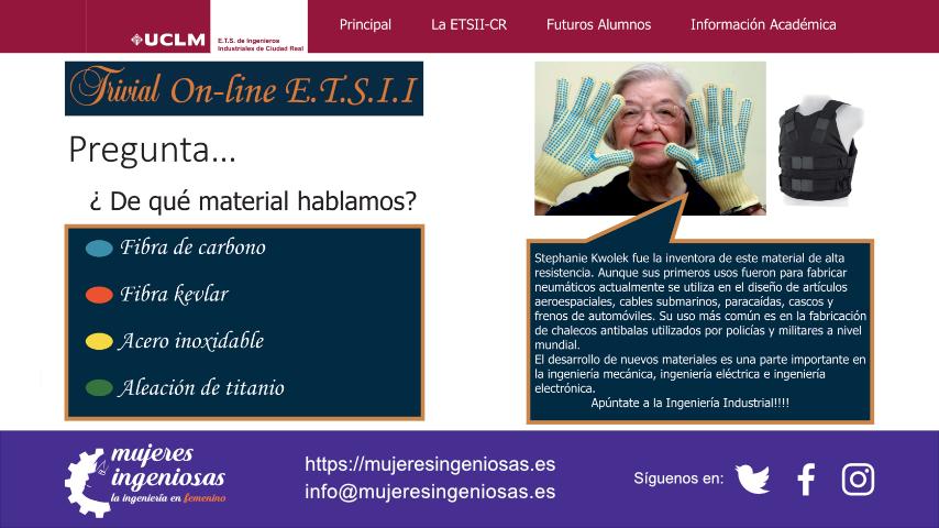 Trivial on line de la ETSII