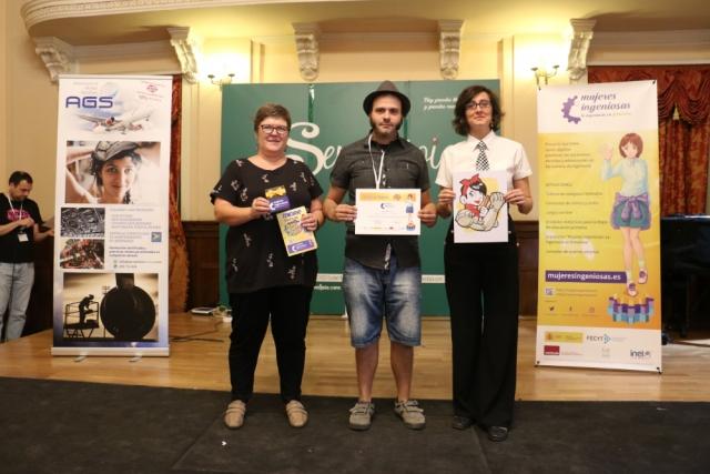 2º Premio Combate de Lápices Manchacómic