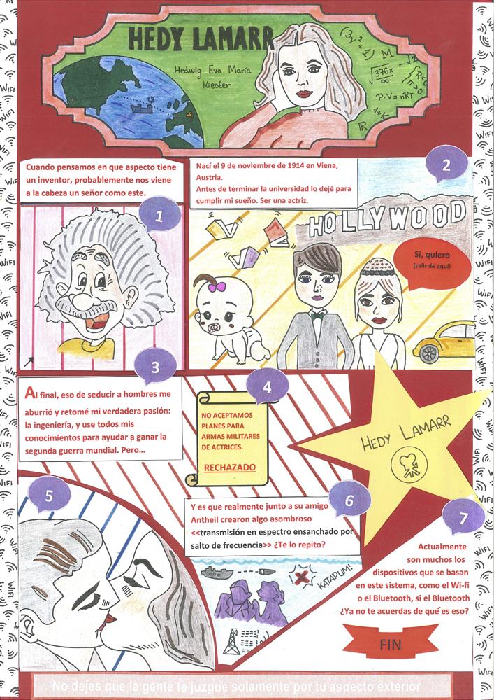 GANADOR Concurso de cómics Mujeres Ingeniosas