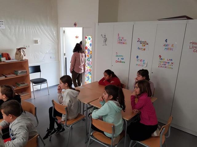 Mujeres Ingeniosas en el CEIP Número 5, Miguelturra
