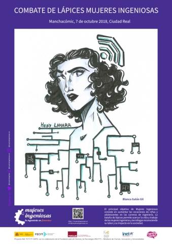 1er premio Mujeres Ingeniosas en Manchacómic