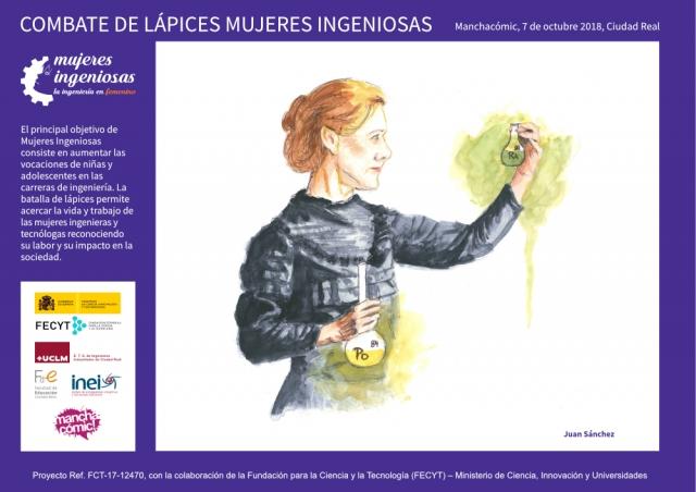 Mujeres Ingeniosas en Manchacómic