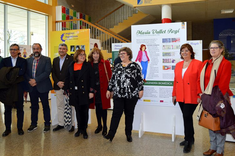 Inauguración de la Exposición Mujeres Ingeniosas