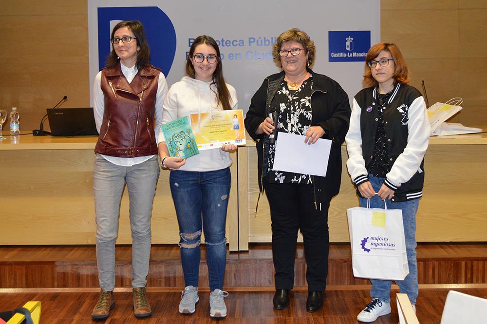 Mención concurso UCLM - Cómic Mujeres Ingeniosas