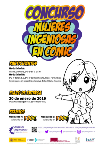 Cartel concurso cómic