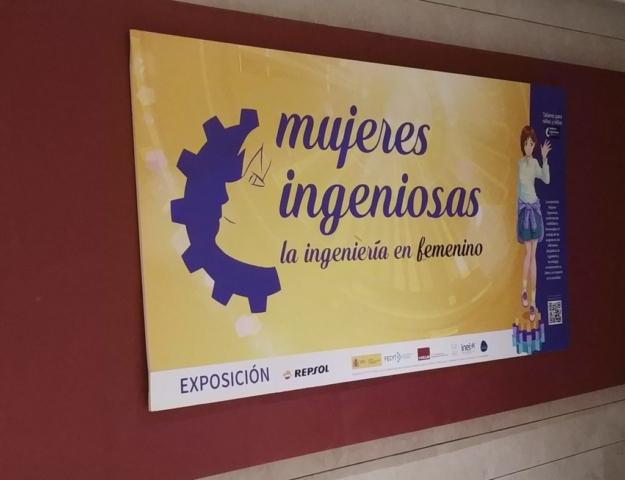 Exposición Mujeres Ingeniosas Repsol
