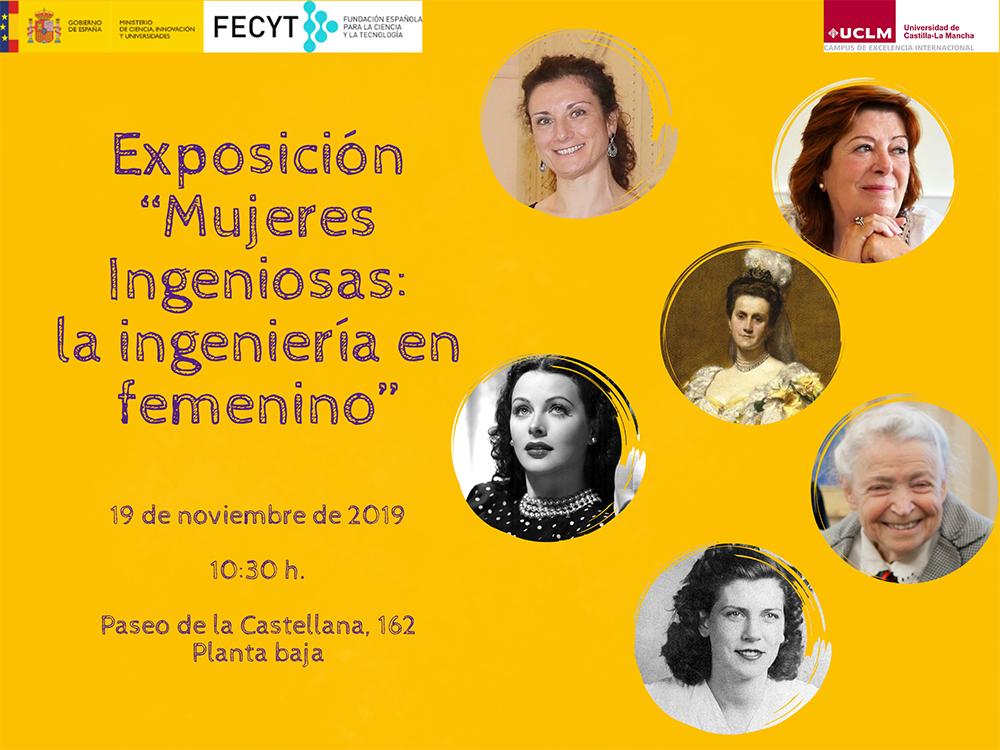 Expo Ciencia Mujeres Ingeniosas