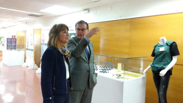 Exposición Mujeres Ingeniosas en Toledo con Teresa Busto