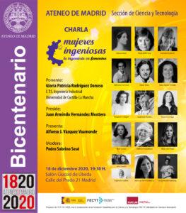 Mujeres Ingeniosas Ateneo de Madrid
