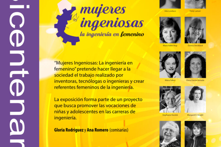 Exposición Mujeres Ingeniosas Ateneo Madrid