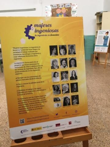 Mujeres Ingeniosas en CEIP Nuestra Señora de la Encarnación (Abenójar)