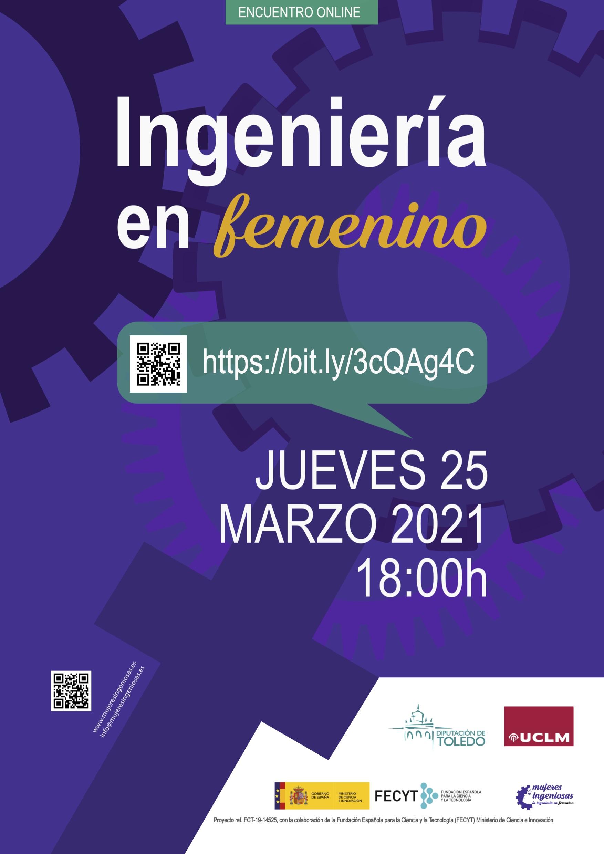 Encuentro online: Ingeniería en femenino