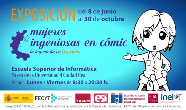 Exposición Mujeres Ingeniosas en cómic