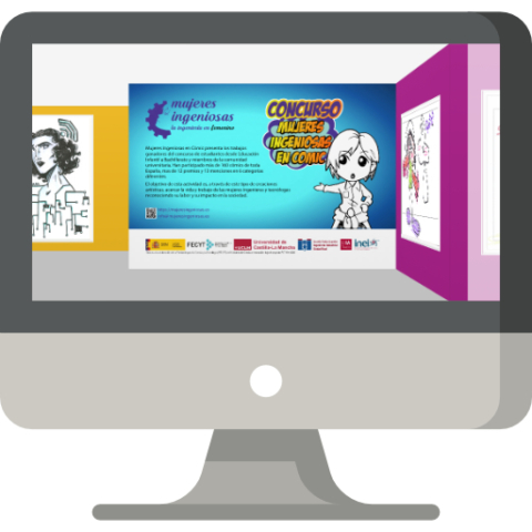 Exposición virtual: Mujeres Ingeniosas en cómic