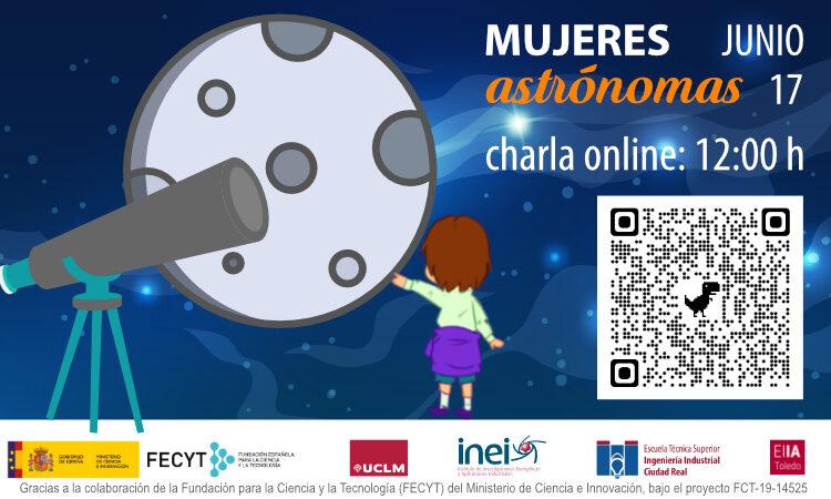 Charla online Mujeres Astrónomas
